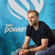 Bleibt den SWD powervolleys treu: Abwehrchef Blair Bann. Foto: powervolleys